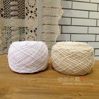 Wholesale 10 shares hand crochet lace DIY tablecloth woven mat White Beige pure old cotton grams