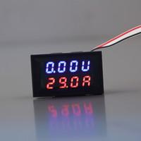 Wholesale New V A DC Digital Voltmeter Ammeter LED Amp Volt Meter In Stock