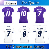 Wholesale AAA top quality thail real Madrid football jersey cristiano ronaldo benzema Ross football shirt customizable
