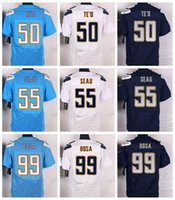 Wholesale Stitiched San Diego jerseys Charger Joey Bosa Junior Seau Te o Philip Rivers Jason Verrett Keenan Allen Elite jerseys for mens jerseys