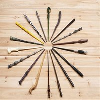 Wholesale 18 Styles cosplay wands Harry Potter magic wand Dumbledore magical wand wizarding world of harry potter Hogwarts Magic with a Gift Box B0099