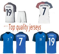 Cheap The best French 2016 new French national team football shirts 15-16 home and away kit Big preferential buy jacket send shorts