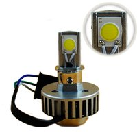 Wholesale BSOD LED motorcycle car headlamp replacre H4 bulb white degree lumens COB degree light source high brightness
