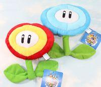 animal mario - 6 quot cm Ice Fire Flower Super Mario Bros Plush Dolls Stuffed Animals Plus Gifts Hot Sale New