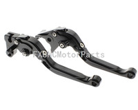 agusta motorcycles - CNC Extending Folding Clutch Brake One Pair Lever Black For MV Agusta F4 RR F4 RC Motorcycle Parts