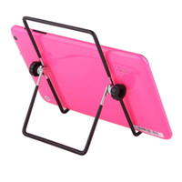 Wholesale Adjustable Stand Holder Multi angle Degrees Folding Foldable Portable Stand Holders for quot quot quot Tablet PC