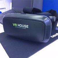 active house - Black color D VR HOUSE Headset Glasses VR BOX Reality D virtual VR Glasses for inches Smartphones