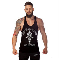 Wholesale Professional Animal Gym Men Stringer Tank Top Bodybuilding Clothing Musculation Camiseta Golds Regata Fitness Masculina