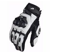 al por mayor guantes de cuero impulsadas-2016 guantes de Super moto paseo en bicicleta moto guantes de carreras caballero de cuero de conducción en bicicleta de la bicicleta de la moto libera el envío