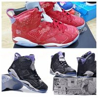 arrival increase - 2016 New Arrival Retro VI Olympic Slam Dunk Basketball Shoes Men Athletic Trainers Sneakers Retro s Top Quality Sports Shoes Size