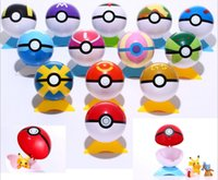 Wholesale 15 kings Ball Figures ABS Anime Action Figures PokeBall Toys Super Master Ball Toys Pokeball Juguetes CM TOY