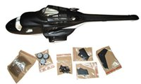 airwolf models - airwolf scale Fuselage bell for ALIGN T REX250 size Fiber Glass helicopter