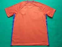 venda por atacado homens da camisa-Camisa superior tailandesa superior T_shirt da camisa dos homens 2015-2016