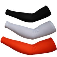 Wholesale 1pair Cycling Bike Bicycle Arm Warmers Cuff Sleeve Cover UV Sun Protection F00419