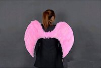 Wholesale Multi color Adult children prom dress stage performance supplies feather angel wings New Fashion cm