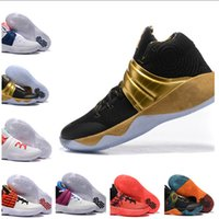 Wholesale Kyrie PE USA Ky Rispy Kreme top quality man basketball shoes Kyrie th of July sports shoes size eur
