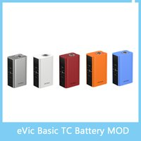 best pics - eVic Basic TC Mod with Max W Output mAh Battery Capacity Best Match with Cubis Pro Mini Original VS Smok OSUB Istick Pic