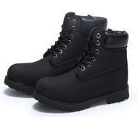 Bottes de neige d'hiver imperméables chaussures d'escalade en plein air Hommes Chaussures de travail de femmes chaussures chaudes Martin