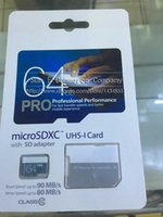 best digital tablet - Best GB Class10 UHS MicroSDXC TF SD Pro Card for Digital Camera Android Smart Phones Tablet PC MB s with SD Adapter