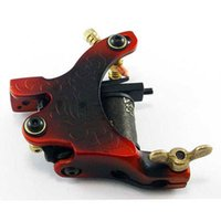 Wholesale 2016 Carbon steel casting Colorful Tattoo Machine Integrated Machine A fog secant Tattoo Machines Guns Tattoo supplies and accessories