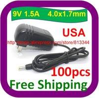Wholesale 100pcs AC power adapter V A mA MM MM NEW FOR DVD PLAYE USA plug
