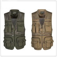 Wholesale Camouflage Army Military Tactical Photography Multi pockets Vest