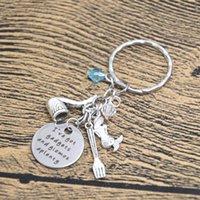ariel keychain - 12pcs Ariel Inspired Little Keyrinng I ve got gadgets and gizmos aplenty Little Mermaid jewelry Gift crystals keychain