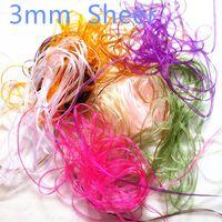 Wholesale 50 Code Color Yarn Ribbon Yarn Ribbon DIY Handmade mm Color Decorative Process