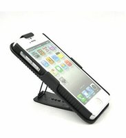 apple ribs - Hard Black Ribbed Case Cover Belt Clip Holster W Kickstand for Apple iPhone SE iPhone S