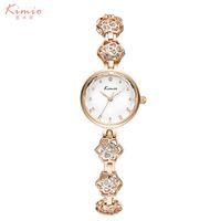 batteries jewels - Luxury Fashion Ladies Watch New Kimio Women s Watches Brand Waterproof Jewel Bracelet Strap Colorful Diamond Quartz Watch