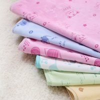 best changing mat - Best Quality Cotton TPU Baby Infants Waterproof Urine Mat Cover Reusable Washable Changing Pad