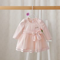 autumn party ideas - IDEA Spring design children clothing korean girl pure cotton princess party dress little baby girl dress soft and comfortable