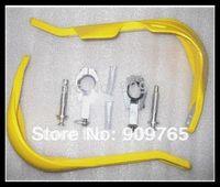 Wholesale White Motorcycle Wide Fat Bar Hand Guards Raptor mm mounting Kit PRO TAPER Dirt Bike MX handlebar