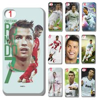 Wholesale Cristiano Ronaldo Iphone Cover - new Cristiano Ronaldo case plastic hard cover for iphone 4 4s 5 5s 5c 6 6s plus ipod touch 5 free shipping