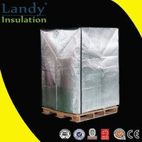 aluminum foil heat insulation - New type waterproof pallet cover Packing and shipping pallet cover Aluminum foil heat insulation pallet cover