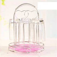 Wholesale Cup holders Stainless steel water cup holder Fashion creative cup holder cup holder cm g H