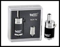 Precio de 94f yocan-Auténtica Yocan NYX vapor seco de la hierba atomizadores Cera vaporizador cuarzo doble bobina inferior de control de flujo de aire Vs Yocan Zap Pep 94F Tanque