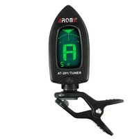 Wholesale Guitar Tuner Cheap Clip On Guitar Tuner For Guitar Bass Ukulele By Aroma AT