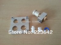 Wholesale 7pcs set D printers ULTIMAKER compatible extruder kit set mm nozzle mm aluminum heating block