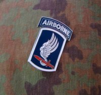 airborne brigade - The U S Airborne Brigade metal badge USARMY chapter title Medal Badge