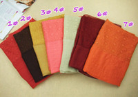 Wholesale Muslim women s hijiabs solid plain color scarves Malaysia wrap lace volie scarves for muslim women