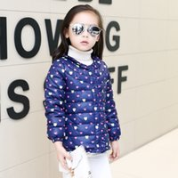 add down kids - Baby Girls Winter Clothes New Design Add Cotton Warm Cute Cartoon Outwear Kids Coats Fashion Cashmere Down Parkas Jackets