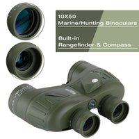 Binoculars Rangefinder - Military Binoculars Rangefinder amp Compass Binoculars Waterproof Telescope Powerful x50 Binocular Fully Multi coated Lens