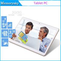 Bon Marché Comprimé appel-Tablet PC peut montrer Octa base MTK6592 show 4GB / 32GB 3G Phone Call 9,6 pouces tablette pc de téléphone IPS milieu avec Bluetooth