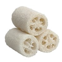Wholesale 3 Pieces Natural Loofah Luffa Loofa Bath Shower Sponge Spa Body Scrubber Horniness Remover Bathing Massage Sponge