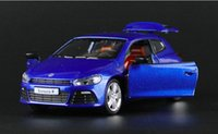 best diecast - 1 Voiture Car For Classical Scirocco R Vehicle Car Diecast Metal Model Best Kid Pocket Toys Men Gift Collection Decoration