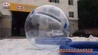 Wholesale cheap PVC water walking ball inflatable water ball for kids and adults