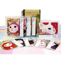 bank folders - Fashion Cartoon Cat design Bus Card Case Holder Bank Card case Documents folder baggage Slip