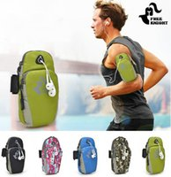 Wholesale For Iphone7 s plus Armband case running bag jogging for cell phone arm bag waterproof sport gym For Apple S Samsung Galaxy note2 S5 S6 edg