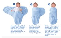 Wholesale Summer Swaddleme Baby Sleeping Bags Cotton Muslin Swaddle Baby Sleepsacks Wraps Infant Baby Swaddling Cotton Wrap Sleeping Bag